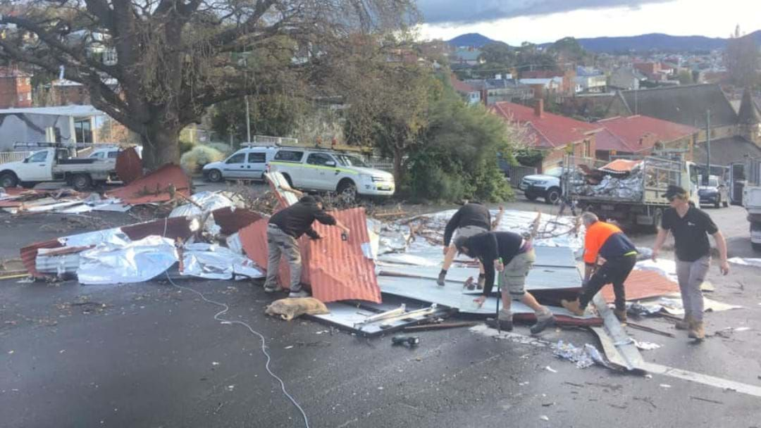 Article heading image for Wild Weather Causes Widespread Damage across Hobart