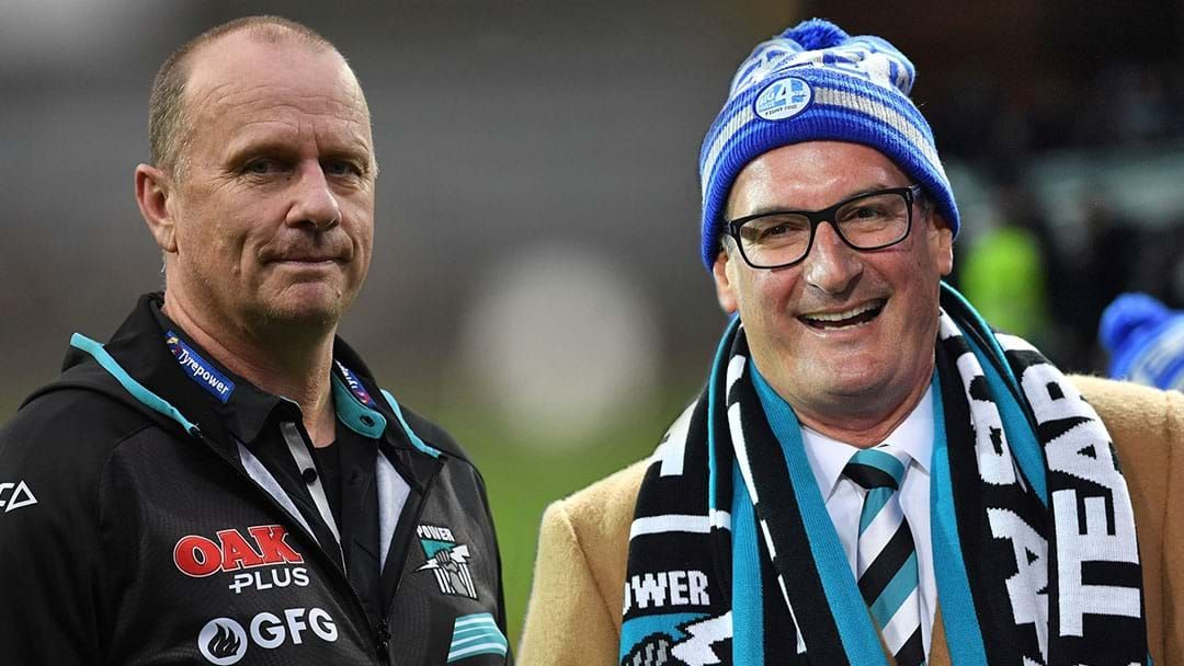 Article heading image for Ken Hinkley Addresses David Koch's Comments About Michael Voss's Carlton Interview