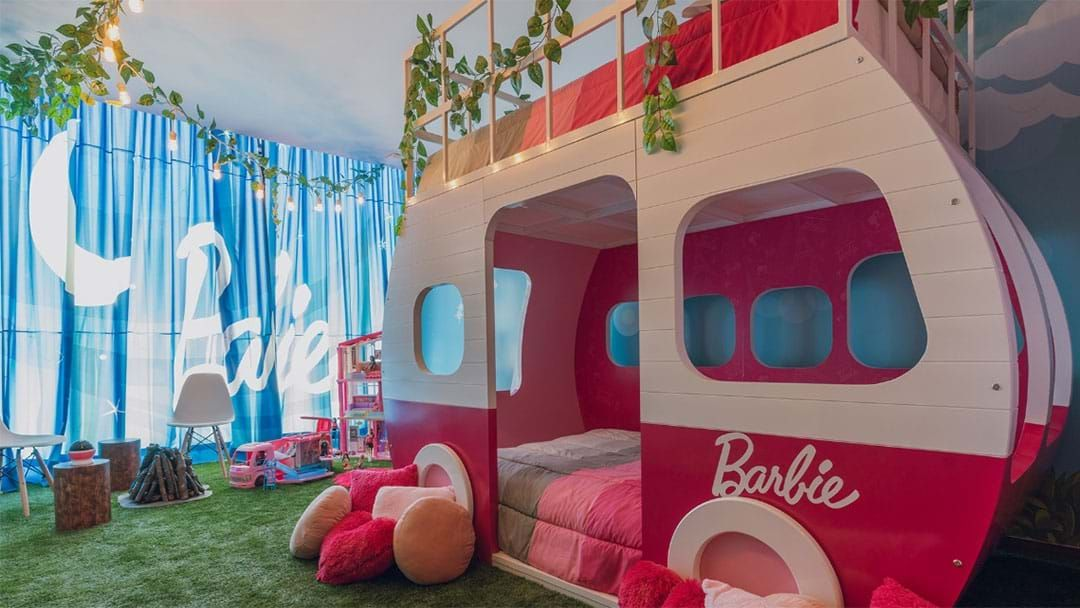 Article heading image for This Hotel Has A Barbie Themed Room To Make Your Childhood Dreams Come True