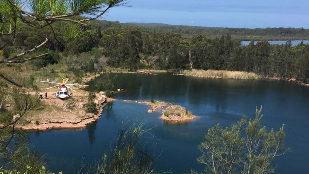 Article heading image for Girl Injured In Port Stephens Quarry Accident