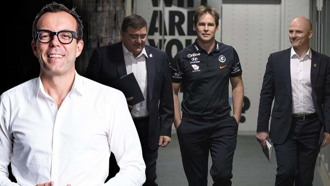 Article heading image for The Friday Huddle Discuss More Changes With Carlton's Board