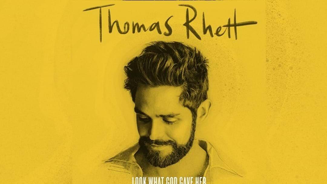 Article heading image for Thomas Rhett Earns Highest Charting Debut of His Career