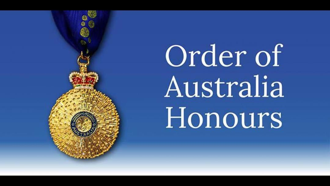 Article heading image for Our Order of Australia Medallists this year