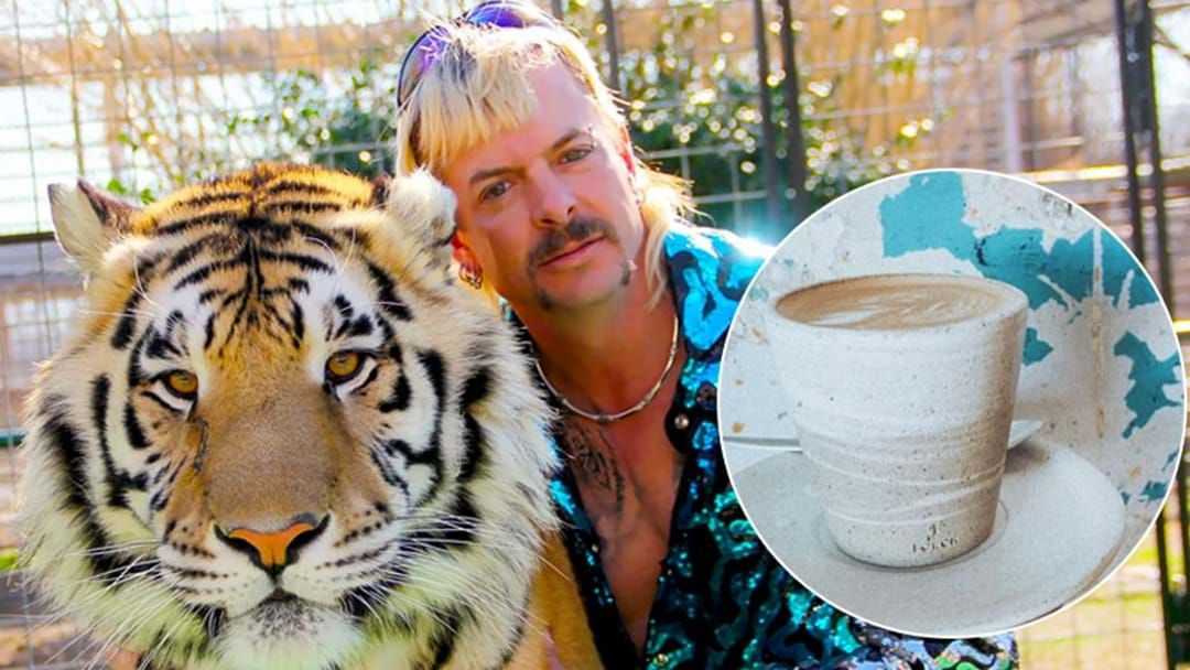 Article heading image for This Sydney Cafe Is Offering Up Free Coffees To People Dressed Like Joe Exotic