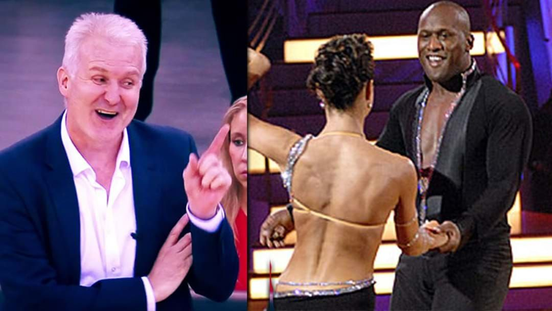 Article heading image for Andrew Gaze Hilariously Rips Wendell Sailor For His Time On Dancing With The Stars
