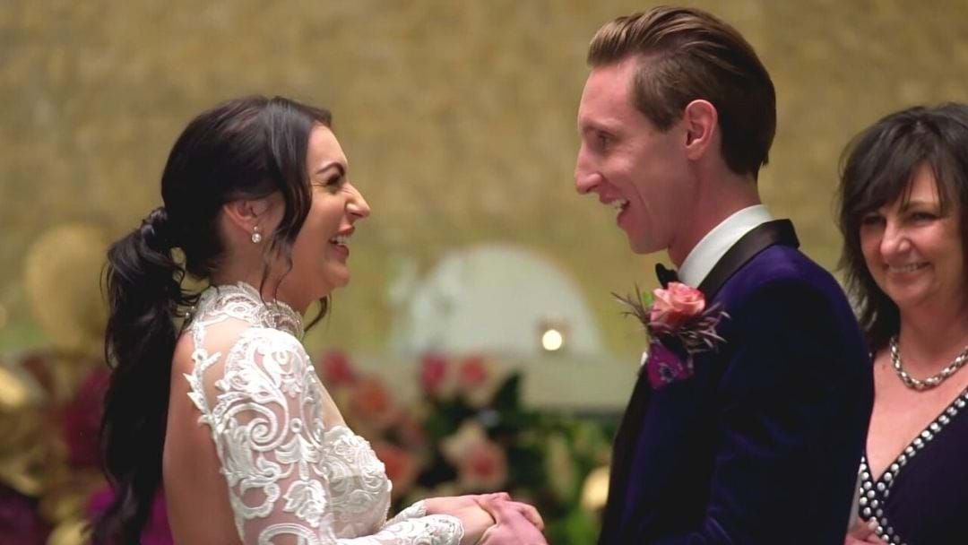 Article heading image for MAFS Newlyweds Aleks And Ivan Talk Wedding Drama And Dinner Party Spoilers