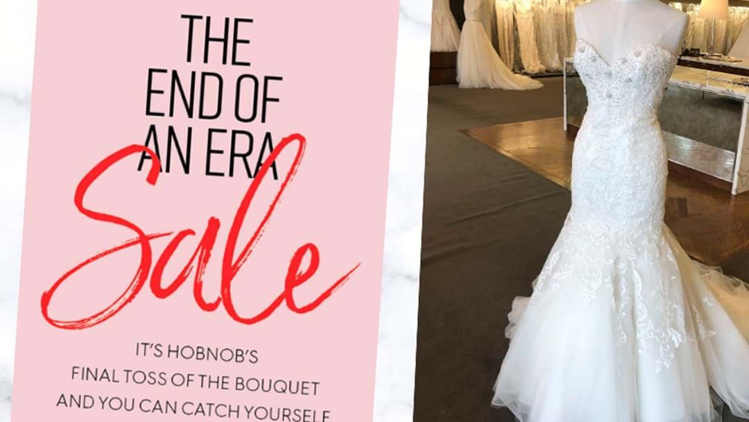 Article heading image for Perth Bridal Shop Institution To Close And There Are Bargains Galore For Wannabe Brides