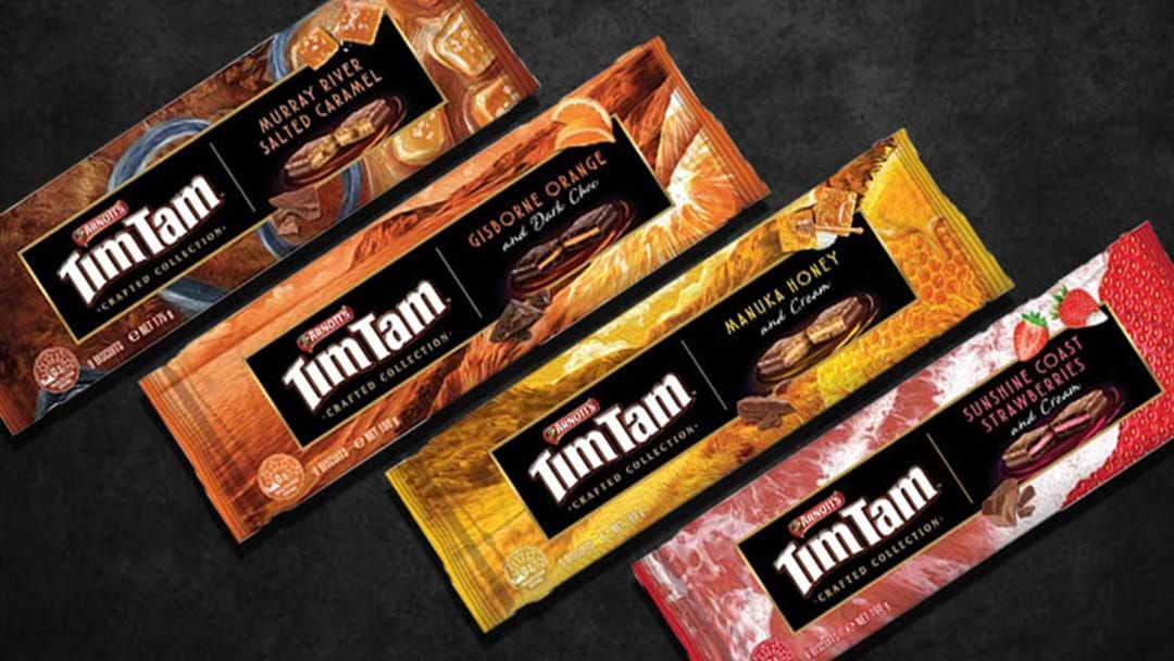 Article heading image for We're Getting Four New Tim Tam Flavours And You'd Best Believe We'll Be Slamming Every Single One
