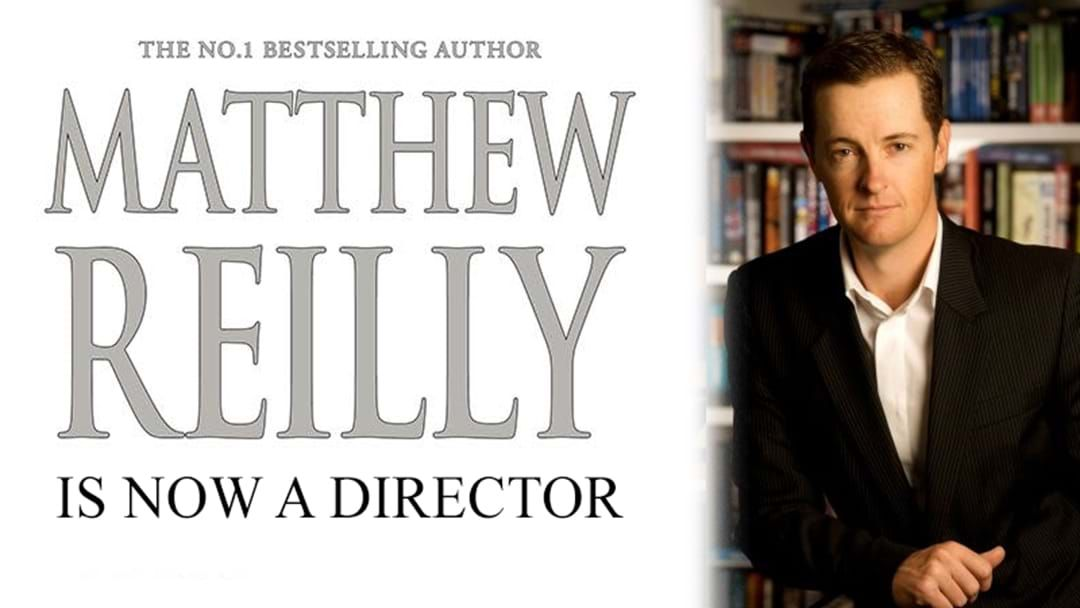 Article heading image for Best-Selling Author Matthew Reilly Is Now A Director