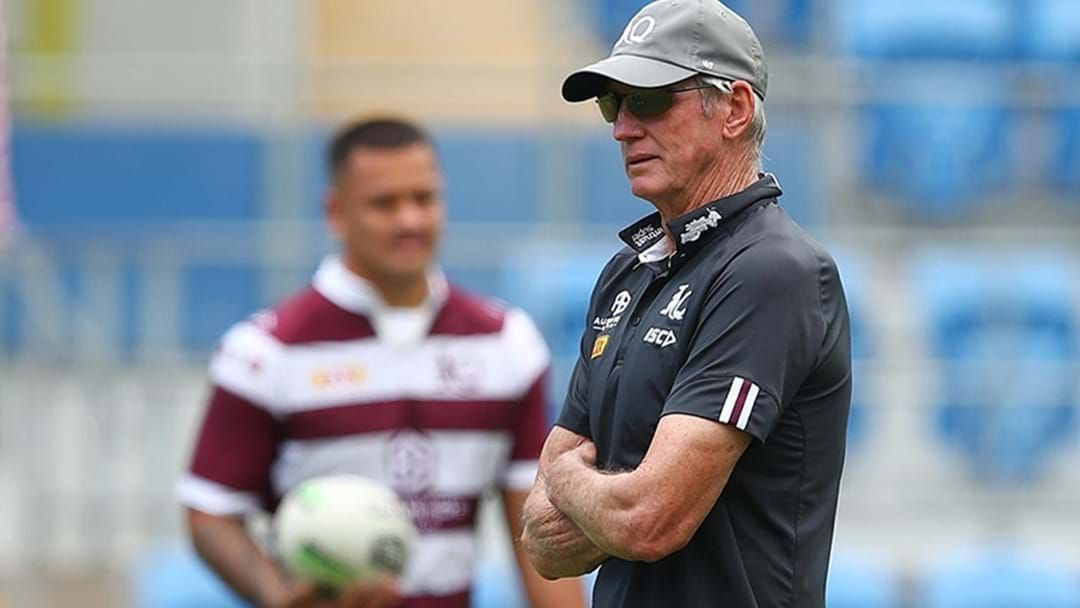 Article heading image for REVEALED | Wayne Bennett Set For QLD Maroons Coaching Role In 2022