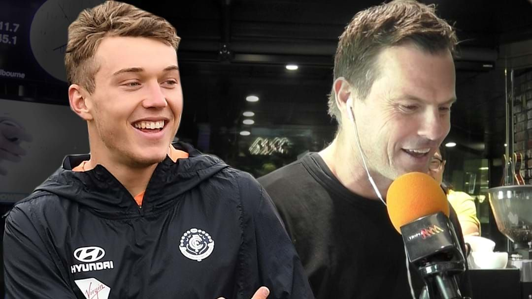 Article heading image for Patrick Cripps Gets Stuck Into Darc Over His Rising Star Votes!