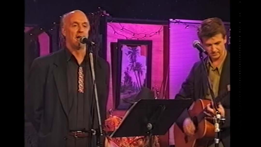 Article heading image for WATCH: John Clarke Live Performance With Neil Finn & Paul Hester