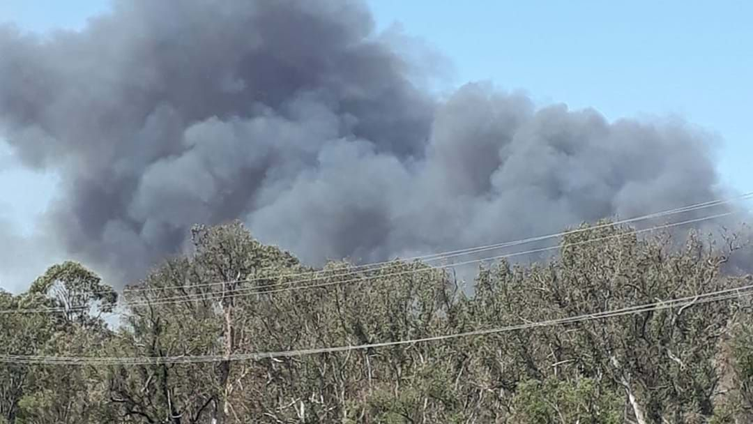 Article heading image for Watch & Act Issued As Bush Fire Burns Out Of Control Near Penrith