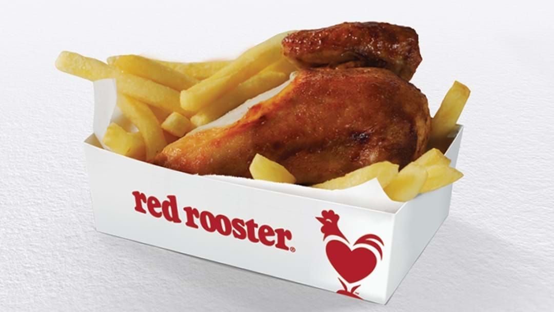 Article heading image for ATTENTION… Red Rooster Is Giving Away Free Quarter Chicken And Chips