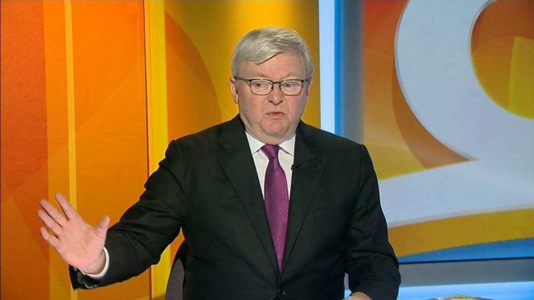 Article heading image for Kevin Rudd Slams The NBN As A Ruddy 'Train Wreck'