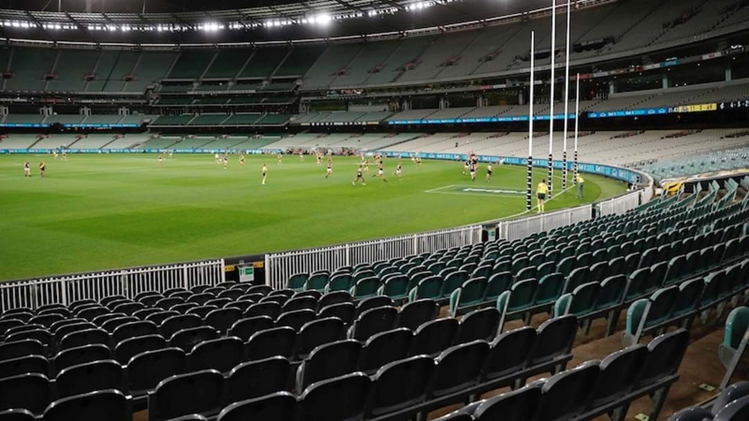 Article heading image for Joey Montagna Explains How Playing In Front Of A Completely Empty Stadium Affects Players