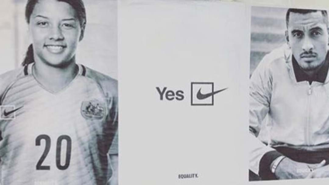Article heading image for Nike Has Thrown Its Support Behind The Marriage Equality Campaign
