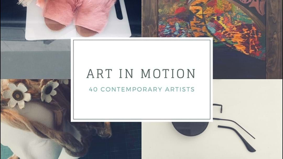 Article heading image for 'Art in Motion' Exhibition at the Cannery Arts Centre
