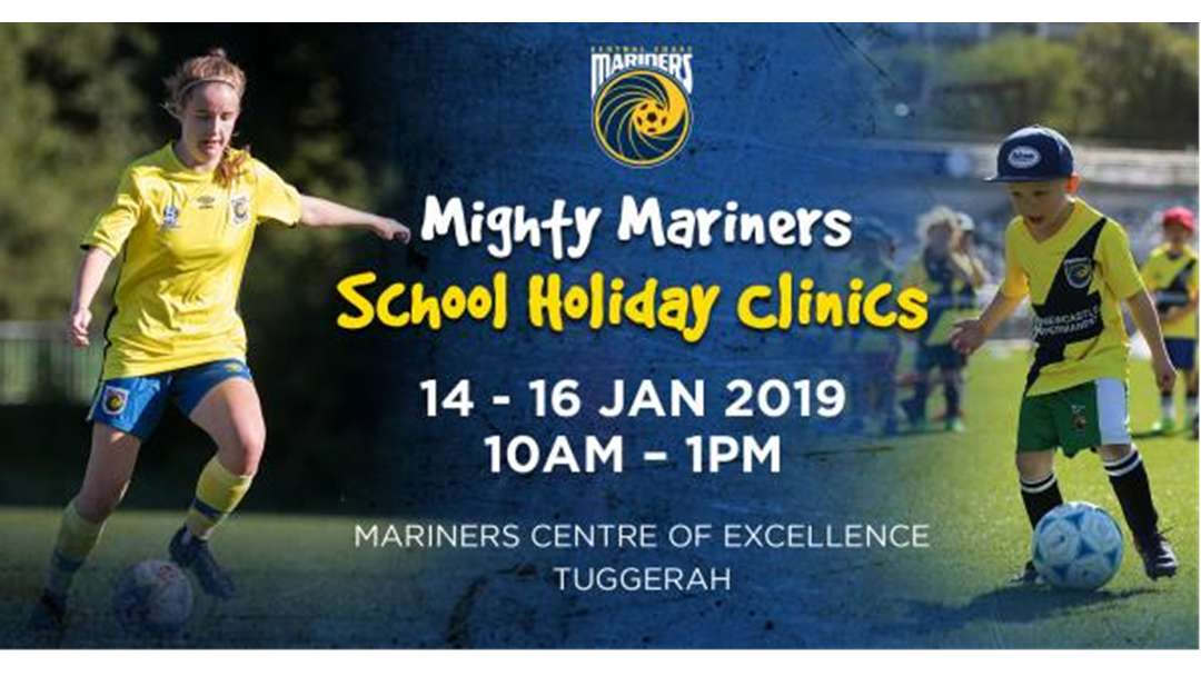 Article heading image for Mighty Mariners Football Clinic