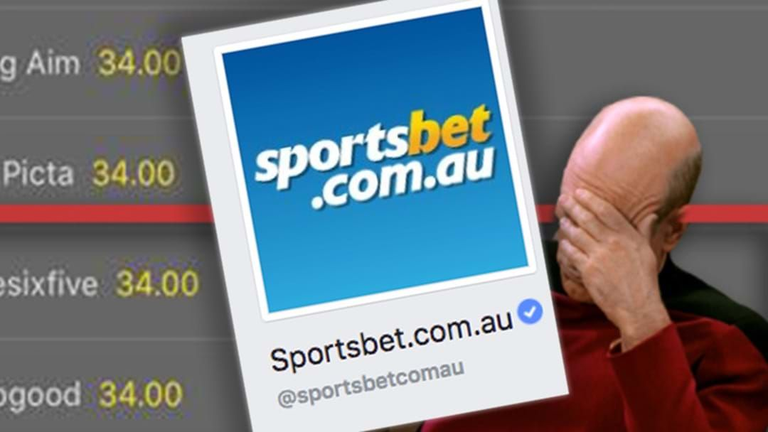 Sportsbet Completely Outwit Bet365 With Fake Market   Triple M
