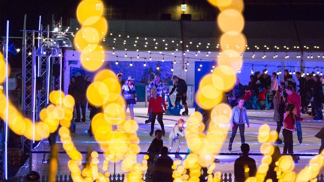 Article heading image for An Epic Outdoor Ice Rink Is Heading Back To Victoria Square!