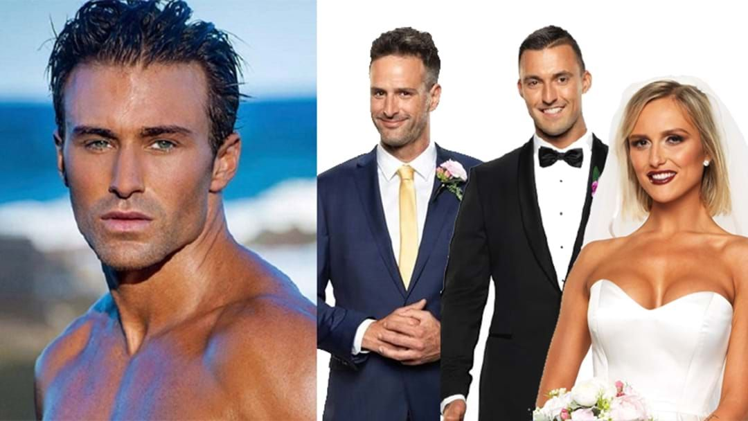 """Article heading image for MAFS: Billy Calls Mick And Nic """"Snakes"""" & Defends Rumours He's Only There For His Modelling Career"""