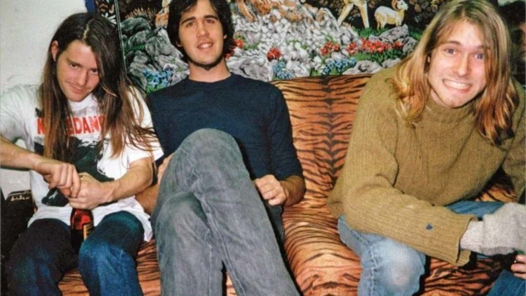 Article heading image for It's Been Almost 3 Decades Since Nirvana Were Kicked Out Of Their Own Record Release Party For Starting A Food Fight