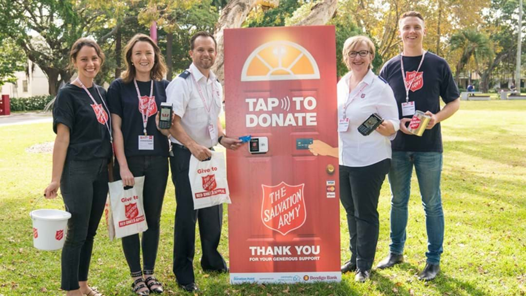 Article heading image for The Annual Salvos Red Shield Appeal Is Coming Up This Month!