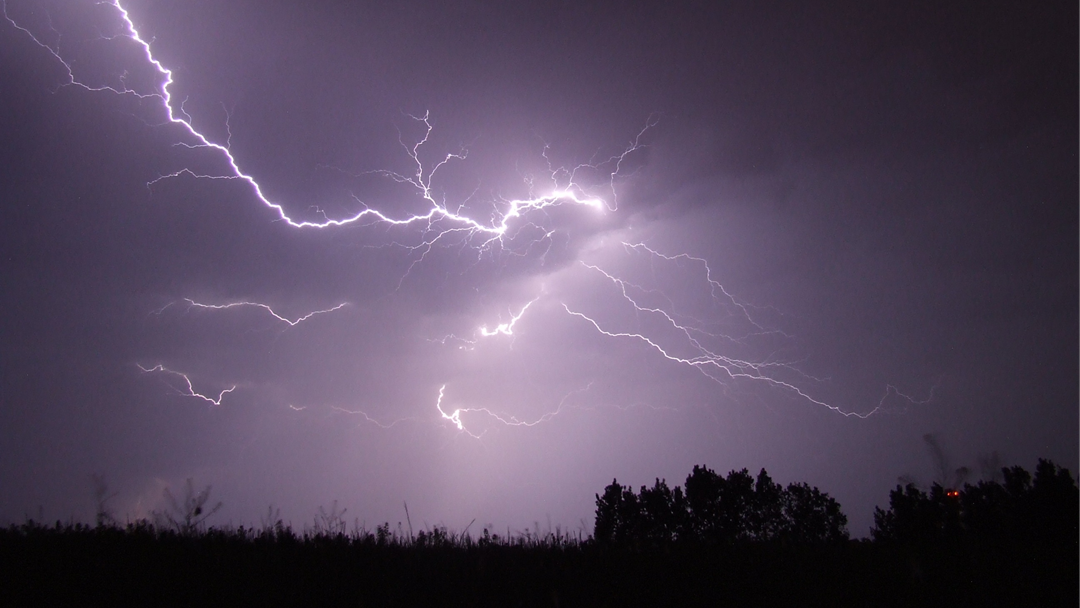 Article heading image for Weather Warning Issued for Severe Thunderstorms