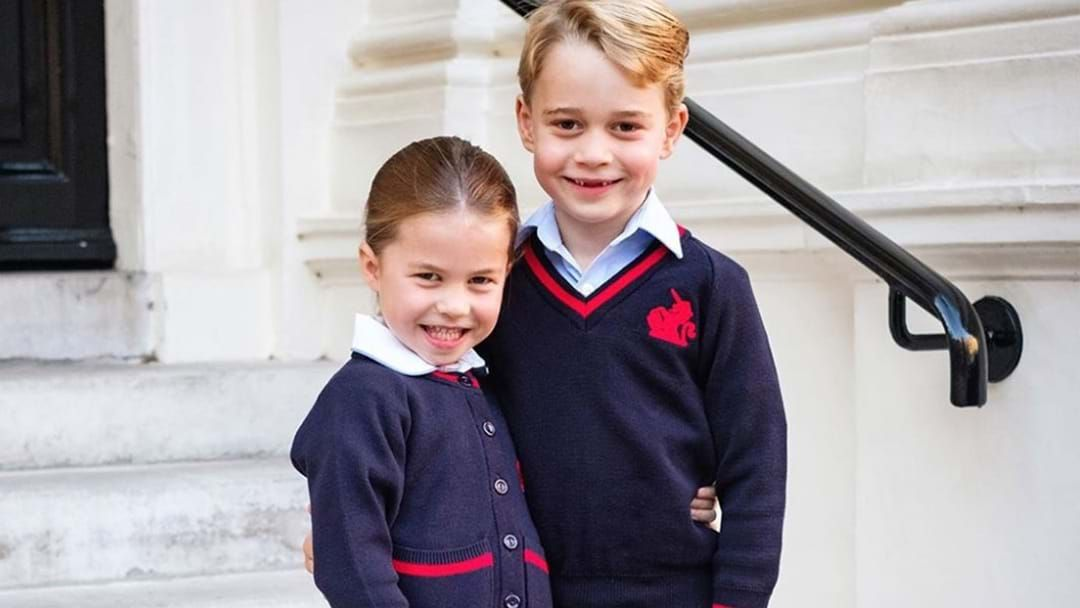Article heading image for The Royal Palace Releases Adorable Photos Of Princess Charlotte On Her First Day Of School!