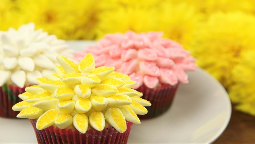 Article heading image for Try These Amazingly Beautiful Cupcakes For Mother's Day!