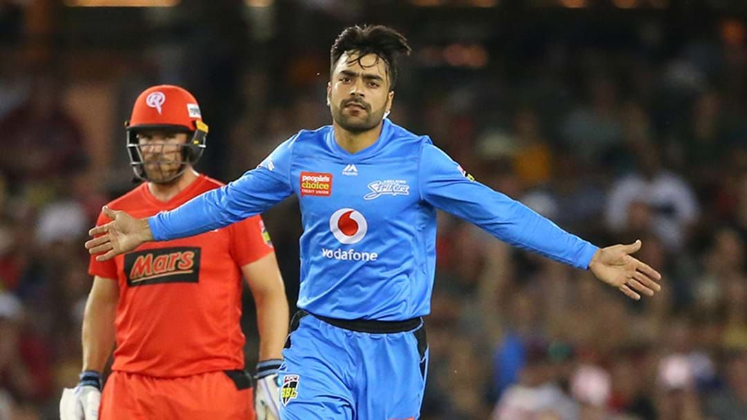 Article heading image for Rashid Khan Gives An Update On His Big Bash Future