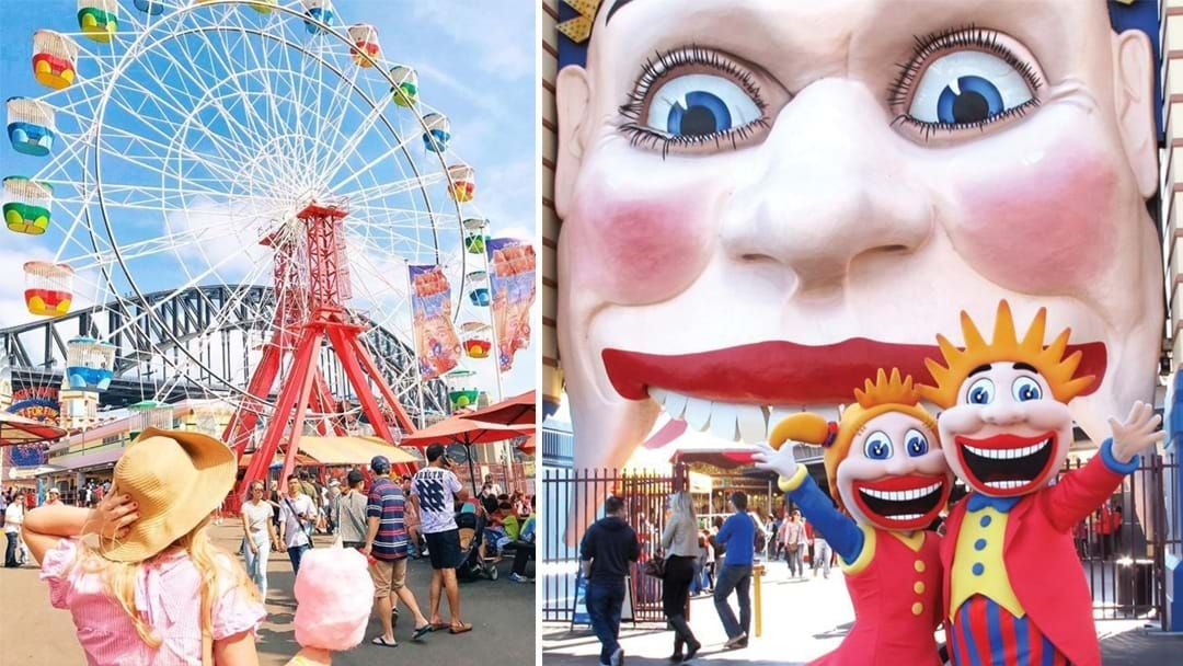 Article heading image for Luna Park Sydney Is Now Hosting Ferris Wheel High Teas