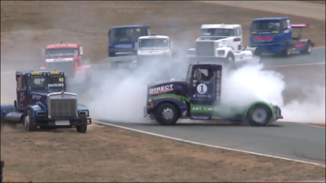 Article heading image for Get Up Close Big Trucks At Winton