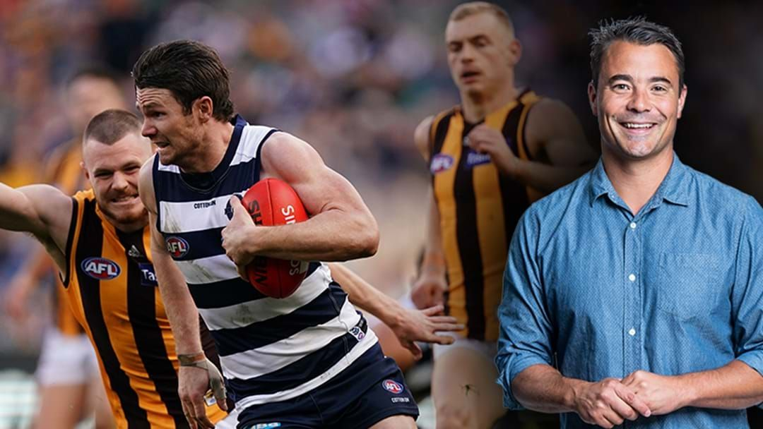 Article heading image for Fixture News: Jay Clark Says We'll Get Three Massive Rivalry Games To Restart Footy In Round 2