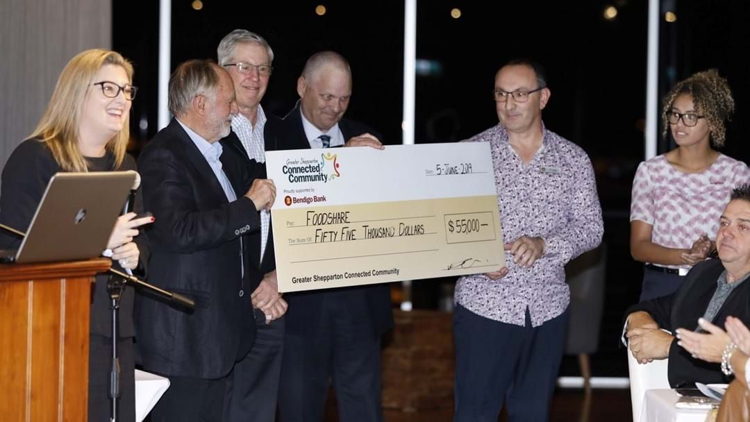 Article heading image for $100,000 Raised For Shepparton Foodshare