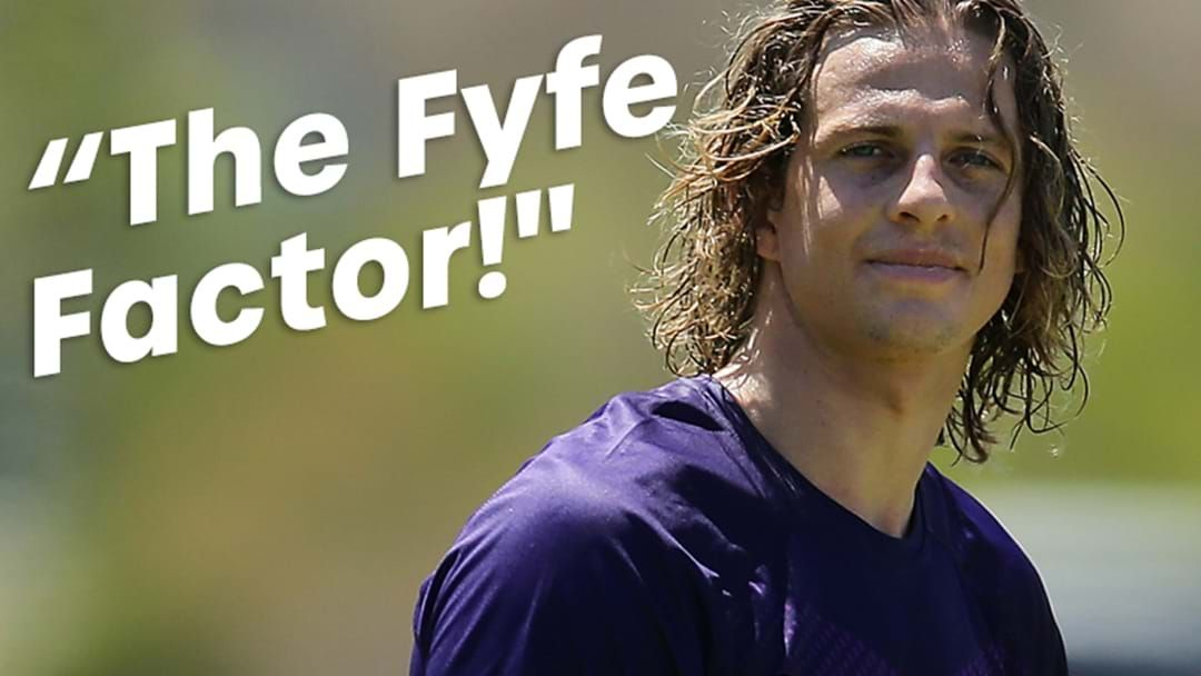 """Article heading image for Barra Has Freo's Forward Solution! It's """"The Fyfe Factor"""""""