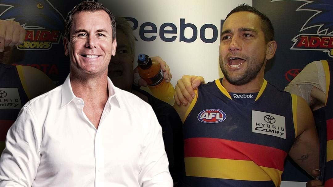Article heading image for LISTEN | Andrew McLeod Names His Favourite Player Of All Time