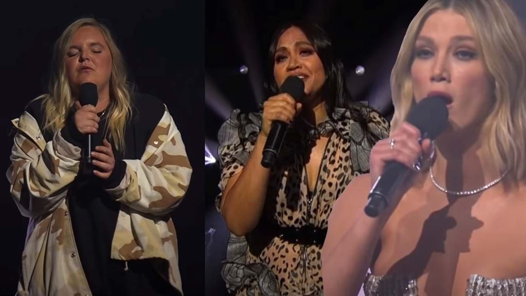 Article heading image for Tones And I, Jessica Mauboy And Delta Goodrem Come Together To Perform At The ARIAs