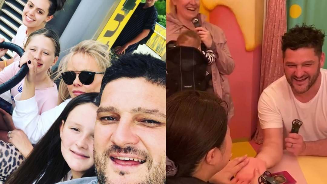 Article heading image for Brendan Fevola's Daughter Gets Emotional After A Japanese Fortune Teller Reads His Future