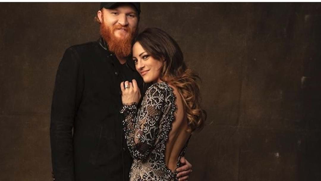 Article heading image for Eric Paslay Shares First Pic of Baby Girl
