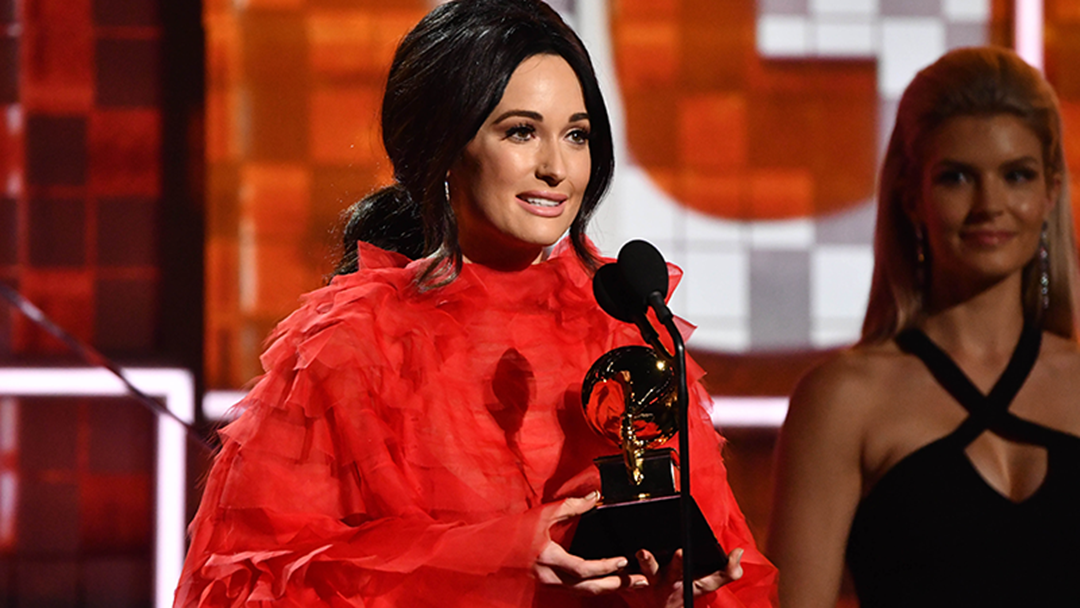 Article heading image for Kacey Musgraves Cut Off After Winning Album Of The Year
