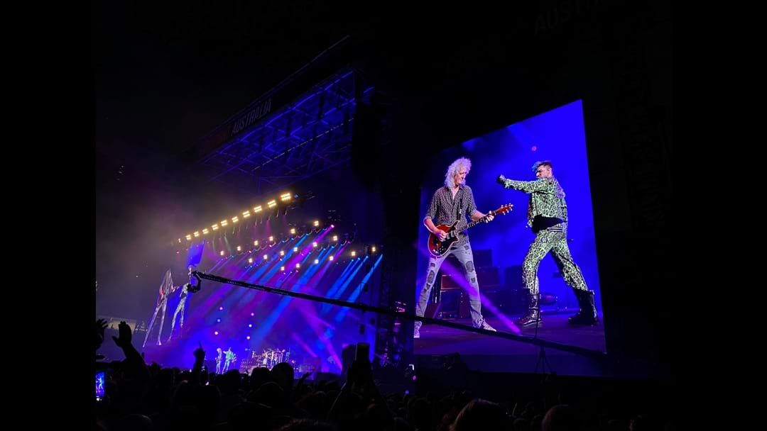 Article heading image for Queen Just Performed Their Live Aid Set At Fire Fight Australia For The First Time Since 1985