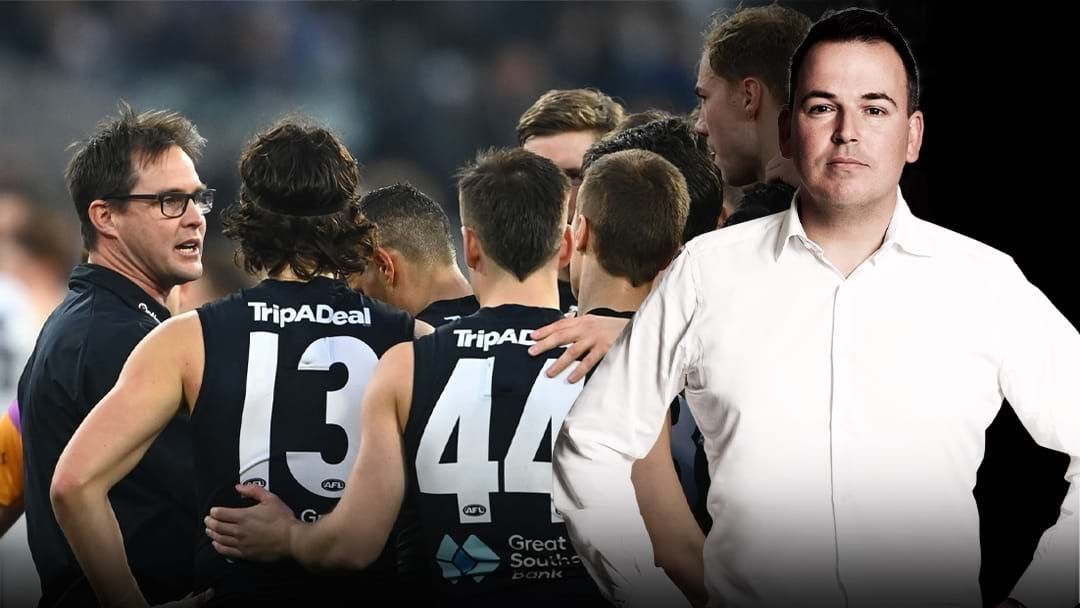 Article heading image for Tom Browne On Carlton's External Review Nearing Completion
