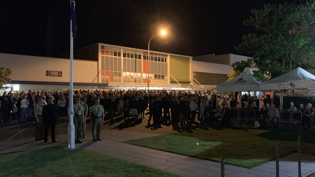 Article heading image for COFFS COAST: Thousands Remember at Anzac Day Dawn Services