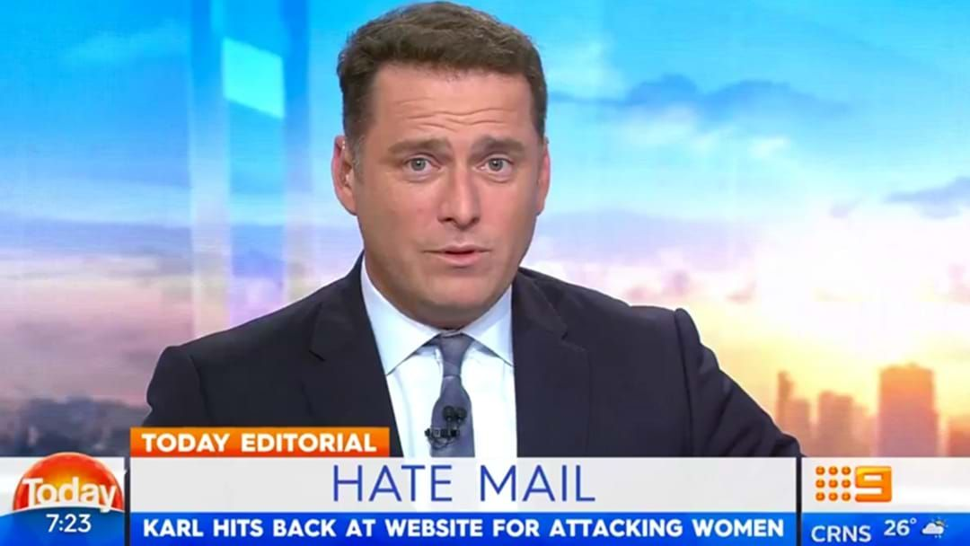 WATCH: Karl Stefanovic Is Fed Up With This News Outlet & Completely