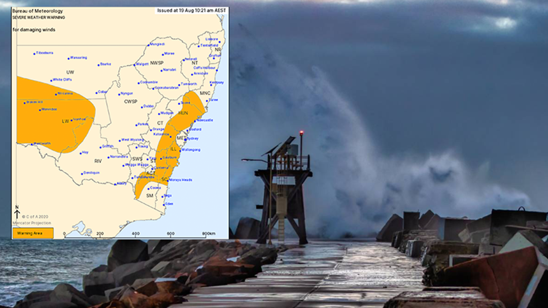Article heading image for DAMAGING WINDS All Across Newcastle Today and Tomorrow