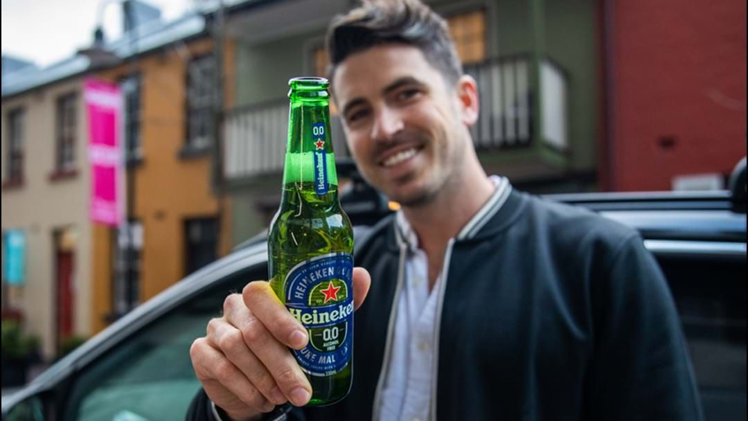 Article heading image for Heineken Launches Australia's First Non-Alcoholic Beer Drive-Thru In Sydney