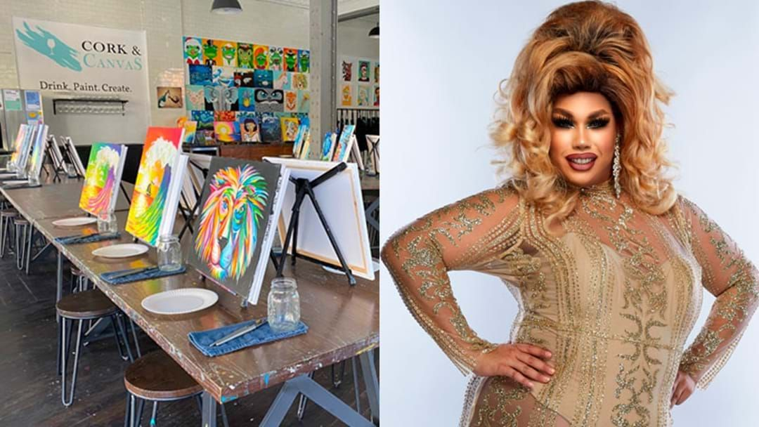 Article heading image for Celebrate Halloween With This Boozy 'HallowQween' Drag Show & Art Class!