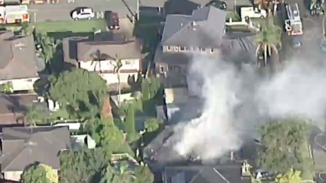 Article heading image for Fire Crews Battling Blaze At Marsfield Home